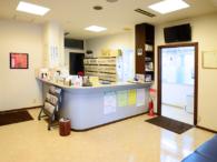永田内科クリニックの待合室