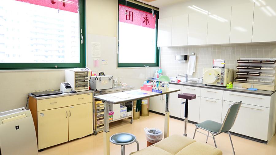 永田内科クリニックの診察室1